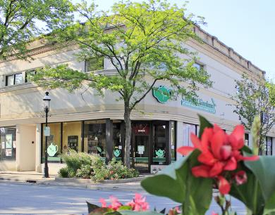17. The former Homewood State Bank is now Civilitea Gardens, a tea shop at 2025 Ridge Road.